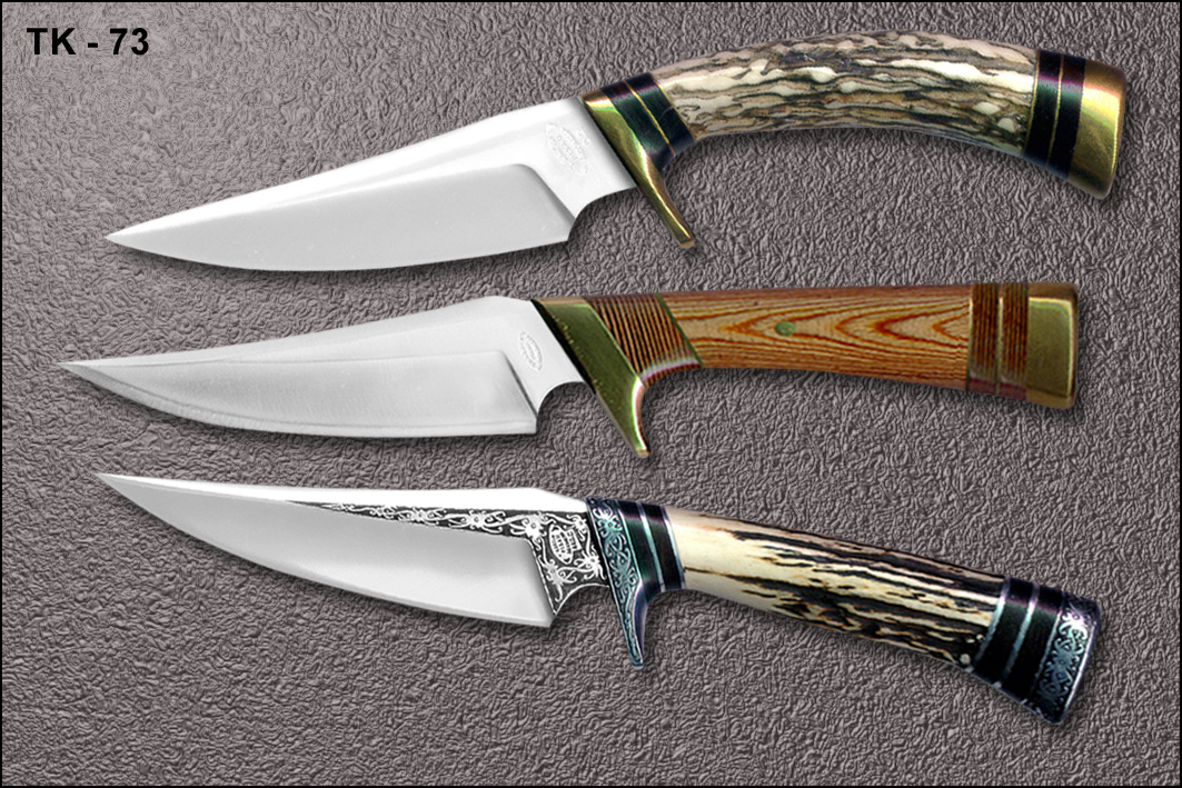 T Kardin Pisau Indonesia TK 73 PUNAN HUNTER MINI